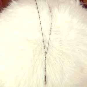 Henri Bendel Y necklace